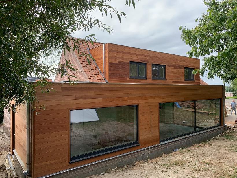 Renovatie woning met houtskelet